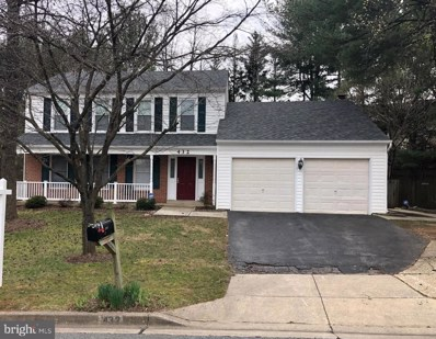 432 Bostwick Lane, Gaithersburg, MD 20878 - MLS#: MDMC699394