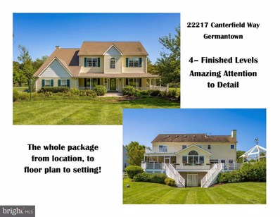 22217 Canterfield Way, Germantown, MD 20876 - #: MDMC716276