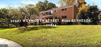 10507 Weymouth Street UNIT W-101, Bethesda, MD 20814 - #: MDMC731844