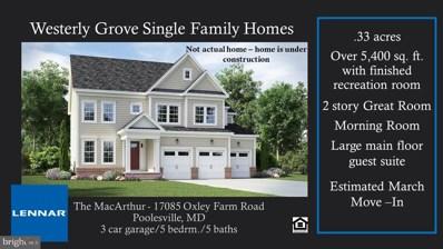 17085 Oxley Farm Rd, Poolesville, MD 20837 - #: MDMC732144