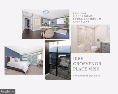 10101 Grosvenor Place UNIT 1210, Rockville, MD 20852 - #: MDMC740730
