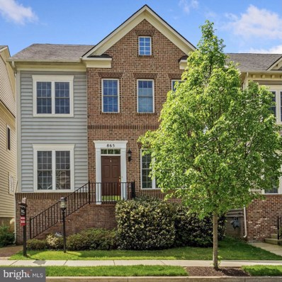 865 Hidden Marsh Street, Gaithersburg, MD 20877 - #: MDMC754472
