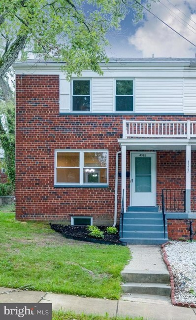 4322 23RD Parkway, Temple Hills, MD 20748 - MLS#: MDPG164812