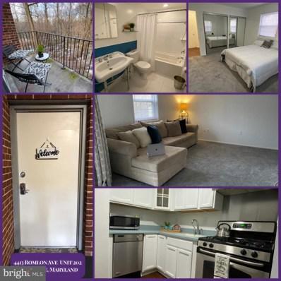 4413 Romlon Street UNIT 202, Beltsville, MD 20705 - #: MDPG2000000