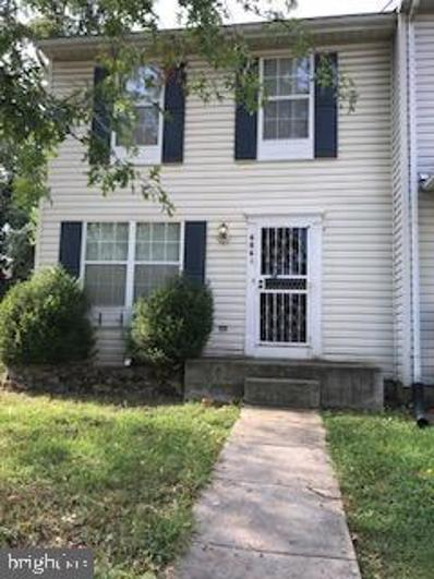 6861 Red Maple, District Heights, MD 20747 - #: MDPG2000039