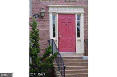 6010 Westchester Park Drive UNIT T-2, College Park, MD 20740 - #: MDPG2005276