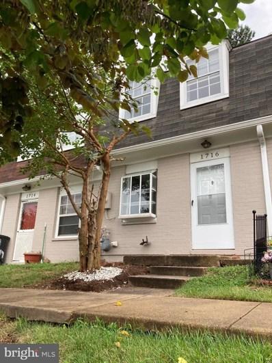 1716 Village Green UNIT A-9, Hyattsville, MD 20785 - #: MDPG2008468