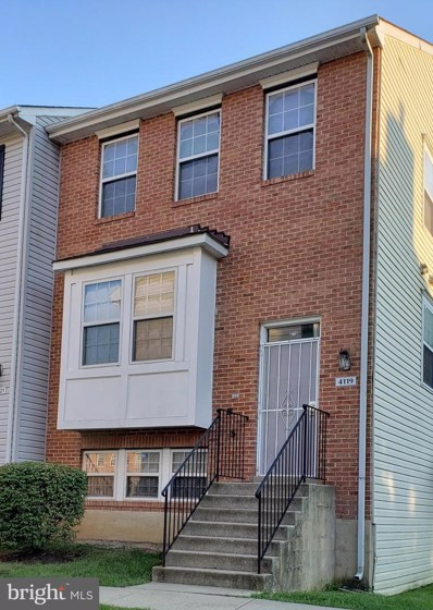 4119 Apple Orchard Court UNIT 5, Suitland, MD 20746 - #: MDPG2009448