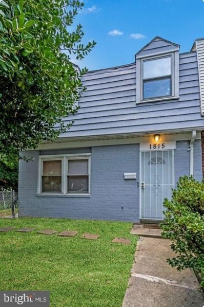 1815 Allendale Place, Hyattsville, MD 20785 - #: MDPG2010386