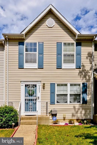 6803 Red Maple Court, District Heights, MD 20747 - #: MDPG2010516