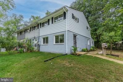 6910 Forest Terrace, Hyattsville, MD 20785 - #: MDPG2013524