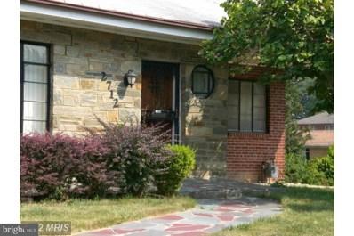 2712 Fairlawn Street, Temple Hills, MD 20748 - MLS#: MDPG220460