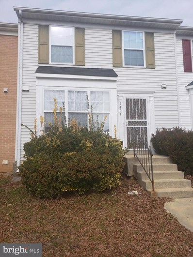 5404 Stoney Meadows Drive, District Heights, MD 20747 - #: MDPG459882