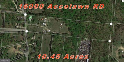 16000 Accolawn Road, Accokeek, MD 20607 - #: MDPG500428