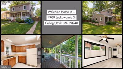 4909 Lackawanna Street, College Park, MD 20740 - #: MDPG533014