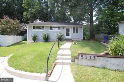 5113 Kennebunk Terrace, College Park, MD 20740 - #: MDPG534008