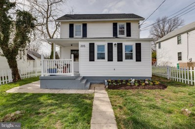 205 10TH Street, Laurel, MD 20707 - MLS#: MDPG563736