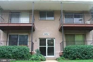 5452 85TH Avenue UNIT 201, Hyattsville, MD 20784 - #: MDPG564104