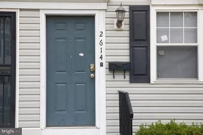 2614 Kent Village Drive UNIT B, Landover, MD 20785 - #: MDPG577016
