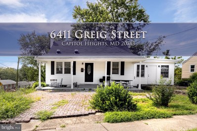 6411 Greig Street, Capitol Heights, MD 20743 - #: MDPG577620