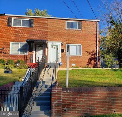 2314 Gaylord Drive, Suitland, MD 20746 - #: MDPG582130
