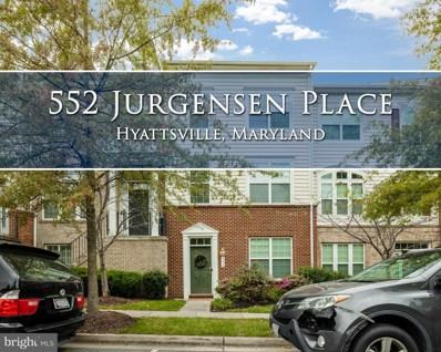 552 Jurgensen Place, Landover, MD 20785 - #: MDPG584334