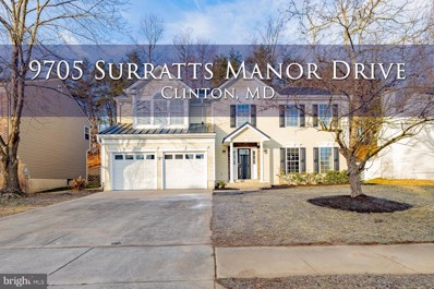 9705 Surratts Manor Drive, Clinton, MD 20735 - #: MDPG593956