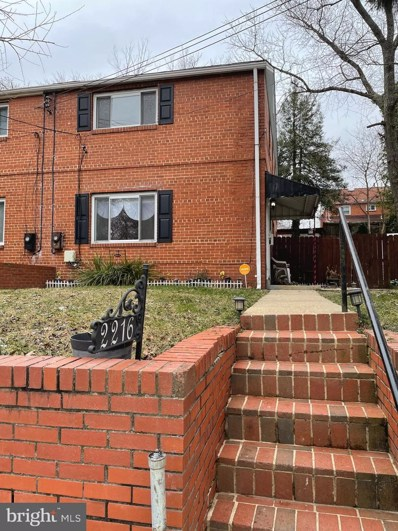 2216 Gaylord Drive, Suitland, MD 20746 - #: MDPG596460