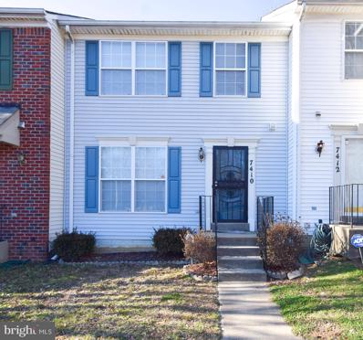 7410 Hill Burne Drive, Landover, MD 20785 - #: MDPG598486