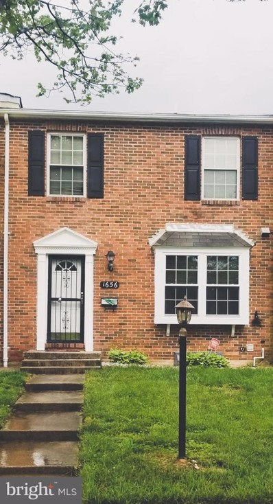 1656 Forest Park Drive, District Heights, MD 20747 - #: MDPG607810