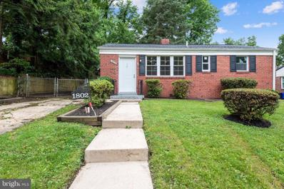 1802 62ND Avenue, Cheverly, MD 20785 - #: MDPG610044