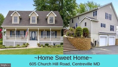 605 Church Hill Road, Centreville, MD 21617 - #: MDQA100017
