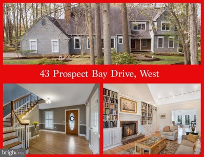 43 W Prospect Bay Drive, Grasonville, MD 21638 - #: MDQA139746