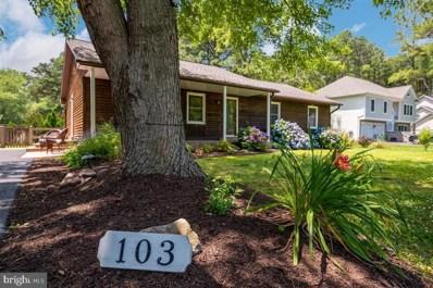 103 Dorchester Road, Stevensville, MD 21666 - MLS#: MDQA144416