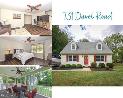 731 Davol Road, Stevensville, MD 21666 - #: MDQA2000009