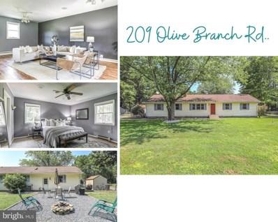 209 Olive Branch Road, Stevensville, MD 21666 - #: MDQA2000806