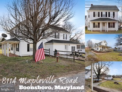 8114 Mapleville Road, Boonsboro, MD 21713 - #: MDWA170352