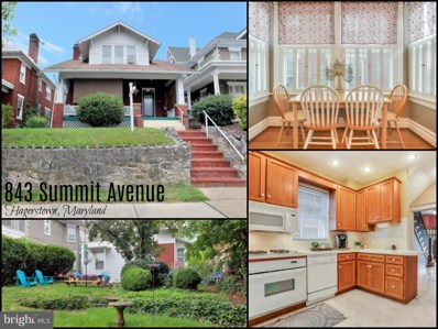 843 Summit Avenue, Hagerstown, MD 21740 - #: MDWA173850