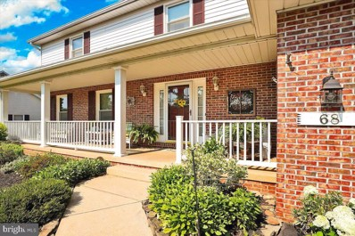 68 Redwood Drive, Hagerstown, MD 21740 - #: MDWA2001238