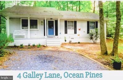 4 Galley Lane, Ocean Pines, MD 21811 - #: MDWO107626
