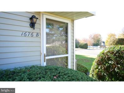 1676B Thornwood Drive, Mount Laurel, NJ 08054 - MLS#: NJBL103850