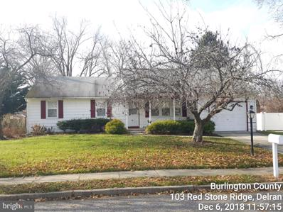 103 Red Stone Ridge, Delran, NJ 08075 - MLS#: NJBL244068