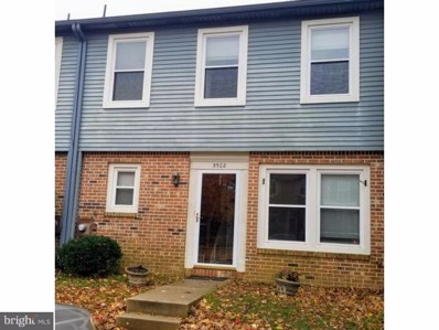 5502 Redhaven Drive, Marlton, NJ 08053 - MLS#: NJBL245700