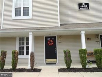 1901-A  Saxony Drive, Mount Laurel, NJ 08054 - #: NJBL394530