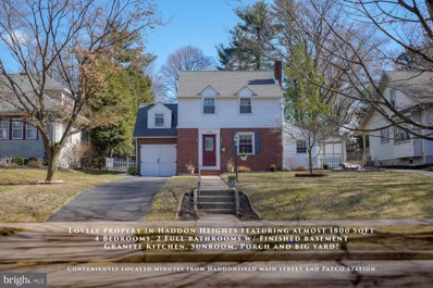 113 3RD Avenue, Haddon Heights, NJ 08035 - #: NJCD349088