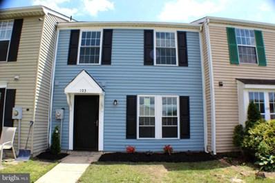 103 Villa Knoll Court, Sicklerville, NJ 08081 - #: NJCD365794