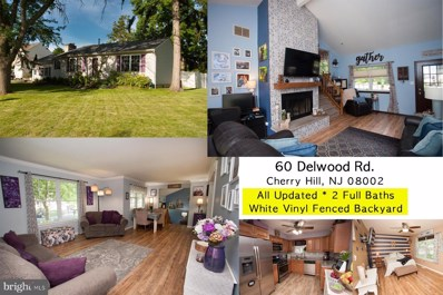 60 Delwood Road, Cherry Hill, NJ 08002 - #: NJCD370502