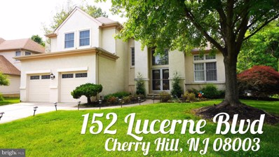 152 Lucerne Boulevard, Cherry Hill, NJ 08003 - MLS#: NJCD386180