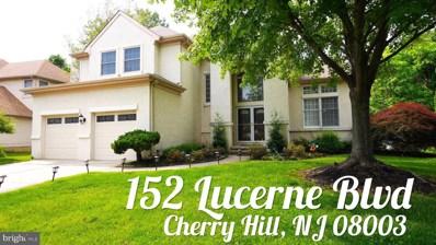 152 Lucerne Boulevard, Cherry Hill, NJ 08003 - #: NJCD386180