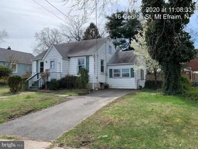 16 George Street, Mount Ephraim, NJ 08059 - #: NJCD391010